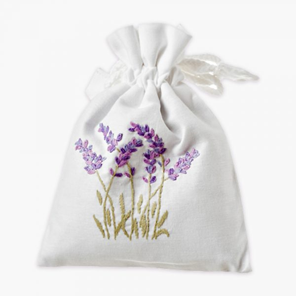 Lavender Drawstring Bag