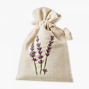 Lavender Drawstring Bag